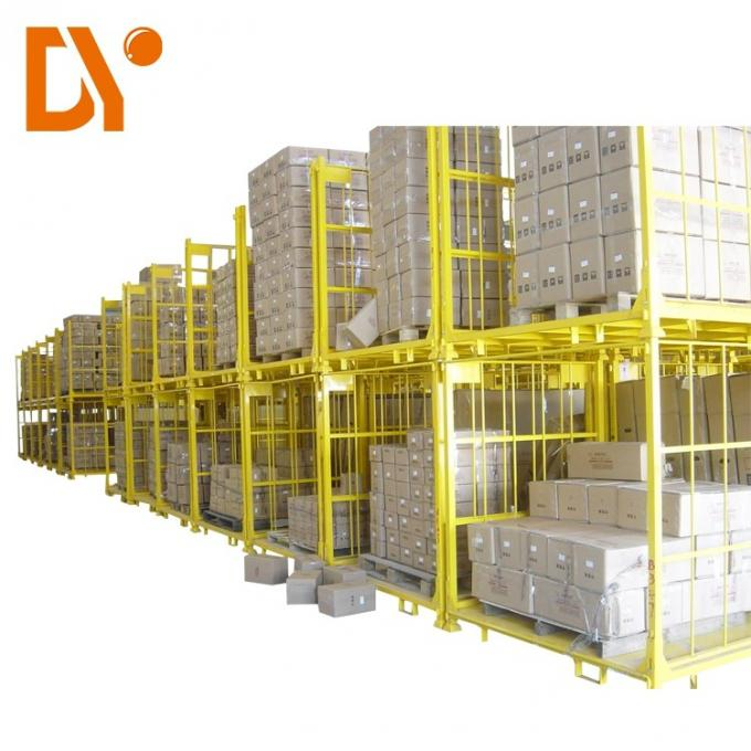 Warehouse Stackable Pallet Racks Color For Storage / Stacking